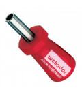 WEKADOR Bitový šroubovák 80 mm magnetický STUBBY