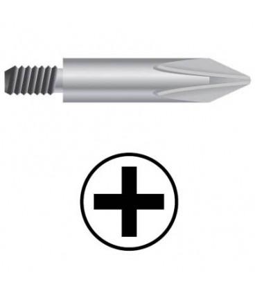 WEKADOR Bit Phillips PH1/45 mm se závitem M5 pr. 6,0  Professional