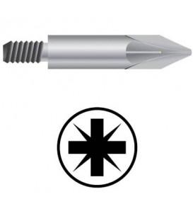 WEKADOR Bit pozidriv PZ2/45 mm se závitem M6 Professional pr. 8,0