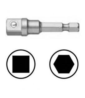 WEKADOR Adaptér 102 mm vnější čtyřhran 1/4 s kuličkou