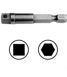 WEKADOR Adaptér 125 mm vnější čtyřhran 3/8 s kolíkem