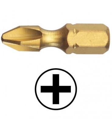 WEKADOR Bit Phillips PH1 - 25 mm torzní TIN