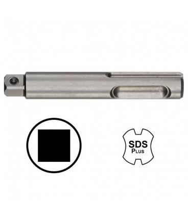 WEKADOR Adaptér 75 mm vnější čtyřhran 1/4 s kolíkem upnutí SDS-plus