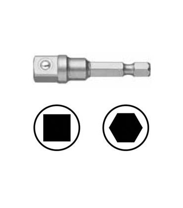 WEKADOR Adaptér 75 mm vnější čtyřhran 1/4 s kuličkou