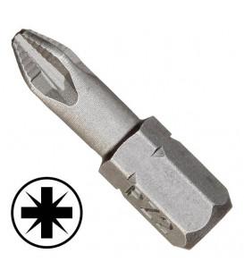 WEKADOR Bit pozidriv PZ3 - 25 mm s žebrováním Professional