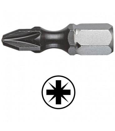 WEKADOR Bit pozidriv PZ3 - 25 mm torzní DLC