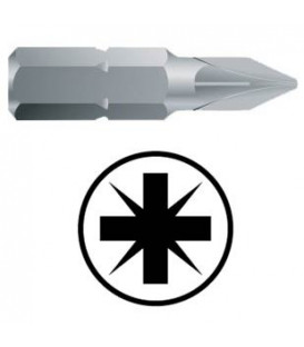 WEKADOR Bit pozidriv PZ3 - 32 mm náhon 5/16 Professional