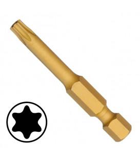 WEKADOR Bit torx 6 - 50 mm TIN