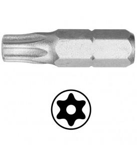 WEKADOR Bit torx 8 - 25 mm s vývrtem Professional
