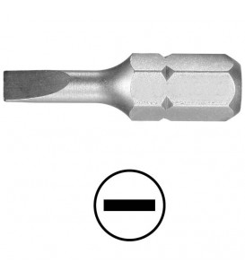 WEKADOR Bit plochý 4,0x0,8 - 41 mm náhon 5/16 Professional