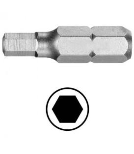 WEKADOR Bit šestihran 3/16 - 25 mm Professional