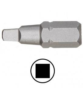 WEKADOR Bit čtyřhran 1 - 25 mm Professional